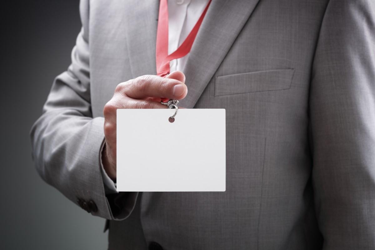 kongresszus szervezés - névkitűző